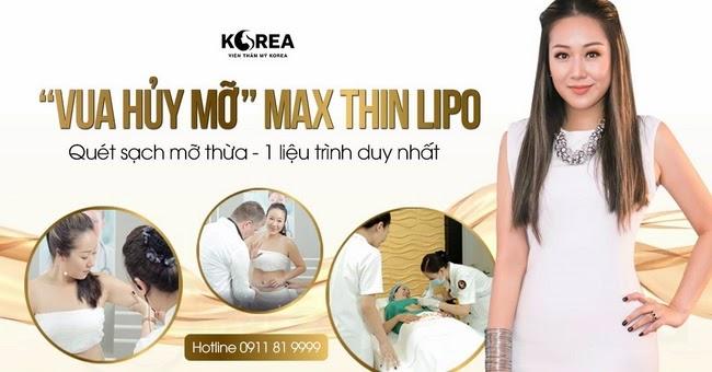 công nghệ Max Thin Lipo lừa đảo